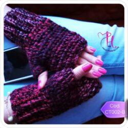 Mitones Invernales Crochet