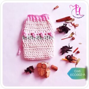 Bolsa Ahorradora de Jabón Crochet, cero residuos
