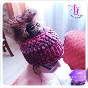 HeadBand Invernal Crochet