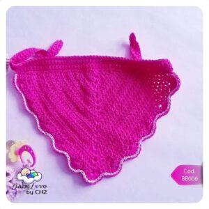 Babero a Crochet para Bebé